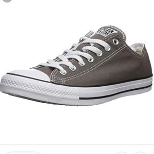 Converse Gray & White All Star Sneakers 9